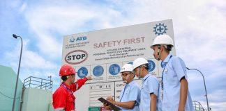 ATB menjalankan tata kelola perusahaan dengan profesional dan penuh integritas, dengan terus berkomitmen menerapkan Sistem Manajemen K3 yang profesional.