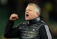 Manajer Sheffield United Chris Wilder (Reuters via Sportsmole)