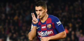 Penyerang Barcelona, Luis Suarez. (Foto dari Livescore)