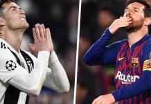 Cristiano Ronaldo dan Lionel Messi. (Soccerpedia)