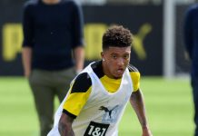 Jadon Sancho berlatih bersama Borussia Dortmund. (Foto: Getty via MEN Sport)