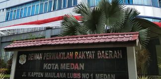 Kantor DPRD Medan (Analisadaily/Jafar Wijaya)