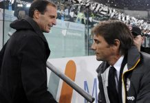 Max Allegri (kiri) dan Antonio Conte. (Foto: Calciomercato)