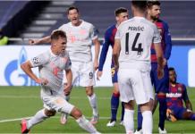 Ivan Perisik saat membobol gawang Barcelona. (Foto: Uefa.com)