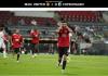 Gelandang Manchester United Bruno Fernandes merayakan gol penalti ke gawang Copenhagen. Satu-satunya gol di laga ini. (Foto dari Uefa.com)