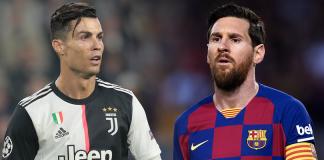 Cristiano Ronaldo dan Lionel Messi, dua pemain terbaik dalam dekade terakhir. (Foto dari MEN Sport)
