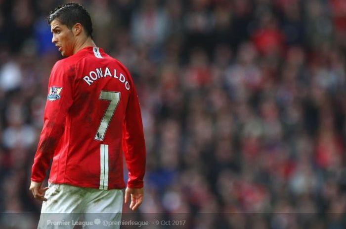 Cristiano Ronaldo pemakai jersey No 7 yang sukses di MU.