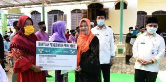 Isdianto dalam kunjungan ke Tambelan, Kabupaten Bintan, Jumat (28/08/2020)