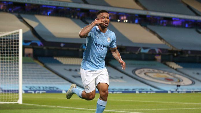 Penyerang Manchester City Gabriel Jesus. (Foto dari Livescore)