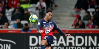 Bek Lille Gabriel Magalhaes (22) telah mengesankan dengan Lille musim ini. (Foto Getty vis talkSPORT)