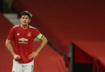 Kapten Manchester United Harry Maguire (Foto dari MEN Sport)
