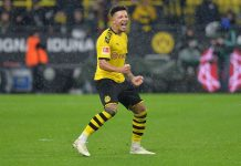 Jadon Sancho dari Borussia Dortmund (Gambar: TF-Images / Getty Images via MEN Sport)