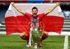 Striker Bayern Munich Robert Lewandowski menjadi top skor Liga Champions 2019/2020 dengan catatan 15 gol. Foto: Uefa.com)
