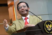 Menko Pohukam Prof Mahfud MD. (Foto: Twitter)