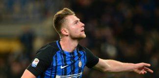 Milan Skriniar, bek tengah Inter Milan asal Slovakia jadi incaran Manchester United untuk diduetkan dengan Harry Maguire di jantung pertahanan Setan Merah.