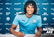 Nathan Ake menandatangani kontrak 5 tahun hingga 2025 bersama Manchester City dari Bournemouth. (Foto: mancity.com)