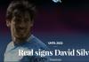 Pengumuman Real Sociedad tentang kesepakatan mendapatkan David Silva. (Foto: realsociedad.eus)