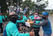 Ardiwinata saat menghadiri Fun Bike New Normal 2020, Sabtu (22/8/2020).