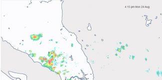 Pantauan Citra Radar BMKG terkait Awan Cumulonimbus