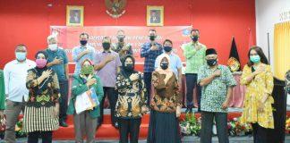 KPU Bintan baru-baru menggelar sosialisasi tahapan pencalonan pada Pilbub Bintan (Suryakepri.com/Ist)