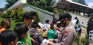 Polsek Batuampar Batam Amankan Gelar Pengamanan di Masjid Baitul Makmur