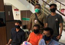 Terpidana Bertha Romius Yasin alias Romy saat diamankan Tim Intelijen Kejagung RI dan Tim Pidsus Kejari Tanjungpinang (Suryakepri.com/ist)