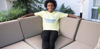 Willian Borges. (Arsenal.com)
