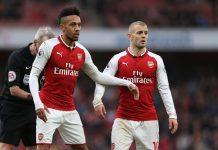 Jack Wilshere (kanan) hanya enam bulan bermain bersama Aubameyang di Arsenal. (Foto: Getty via talkSPORT)