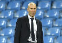 Pelatih Real Madrid Zinedine Zidane. (Foto dari Livescore)