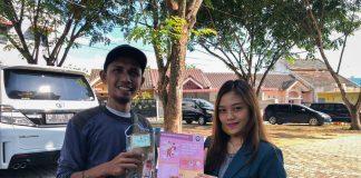 """Sosialisasi Kebiasaan Baru di Era New Normal"""" di RW 05, Perumahan Mitra Raya, Kecamatan Batam Kota, Kota Batam, Jumat (31/07/2020)."""