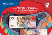 mekanisme penukaran uang peringatan kemerdekaan RI ke -75