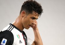 Penyerang Juventus Cristiano Ronaldo. (Foto dari Livescore)