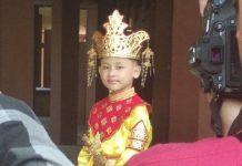 Foto anak Suku Tidung