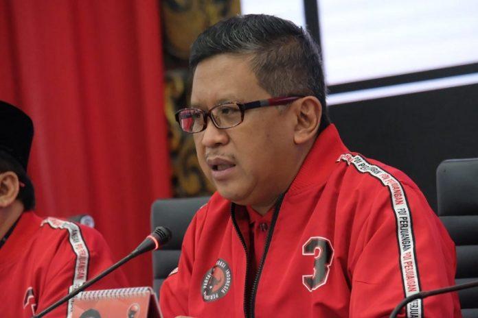Sekjen DPP PDI=P Hasto Kristiyanto.(suryakepri.com/ist)