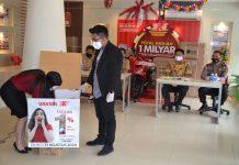 Pengundian PKP Tahap 3 di kantor PKP di Jodoh. Batam, Senin (31/08/2020) sore
