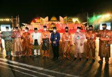 Wakil Menteri Agama RI Zainut Tauhid membuka Musabaqah Tilawatil Quran ke-VIII Tingkat Provinsi Kepulauan Riau Tahun 2020 di Dataran Gurindam 12, Depan Gedung Daerah Tanjungpinang, Sabtu (19/09) malam