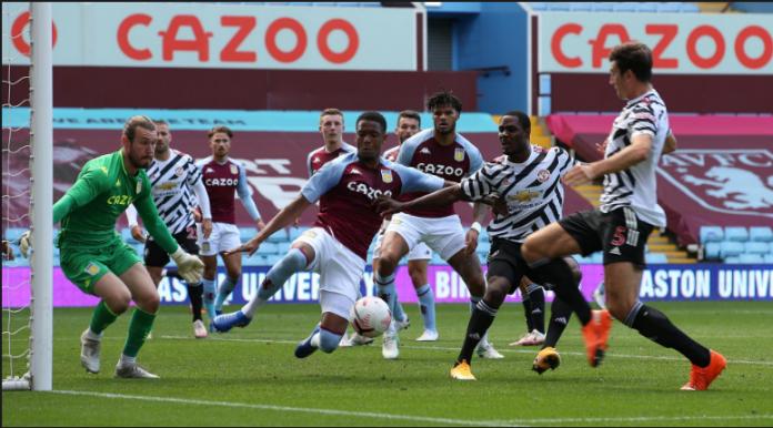 Aston Villa vs Manchester United dalam pertandingan persahabatan di Villa Park Sabtu (12/9/2020). Villa menang 1-0 dalam laga ini. (Foto:manutd.com)