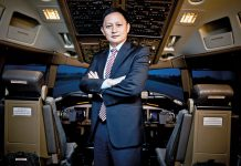 CEO SIA Goh Choon Phong. (Airlines passenger)
