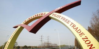 Kawasan Free Trade Zone (FTZ) di Lingang Shanghai, China. (Foto: China Briefing)
