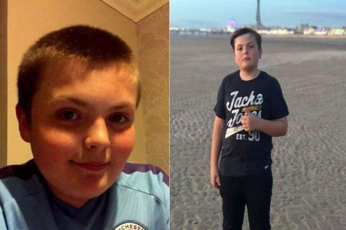 Jack Worwood (13) yang terbunuh dalam peristiwa tabrak lari oleh Liam Wilson di Wigan. (Foto: MEN)