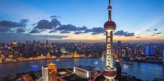 Kawasan FTZ atau perdagangan bebas di Shanghai, China. (Foto dari intheblack)