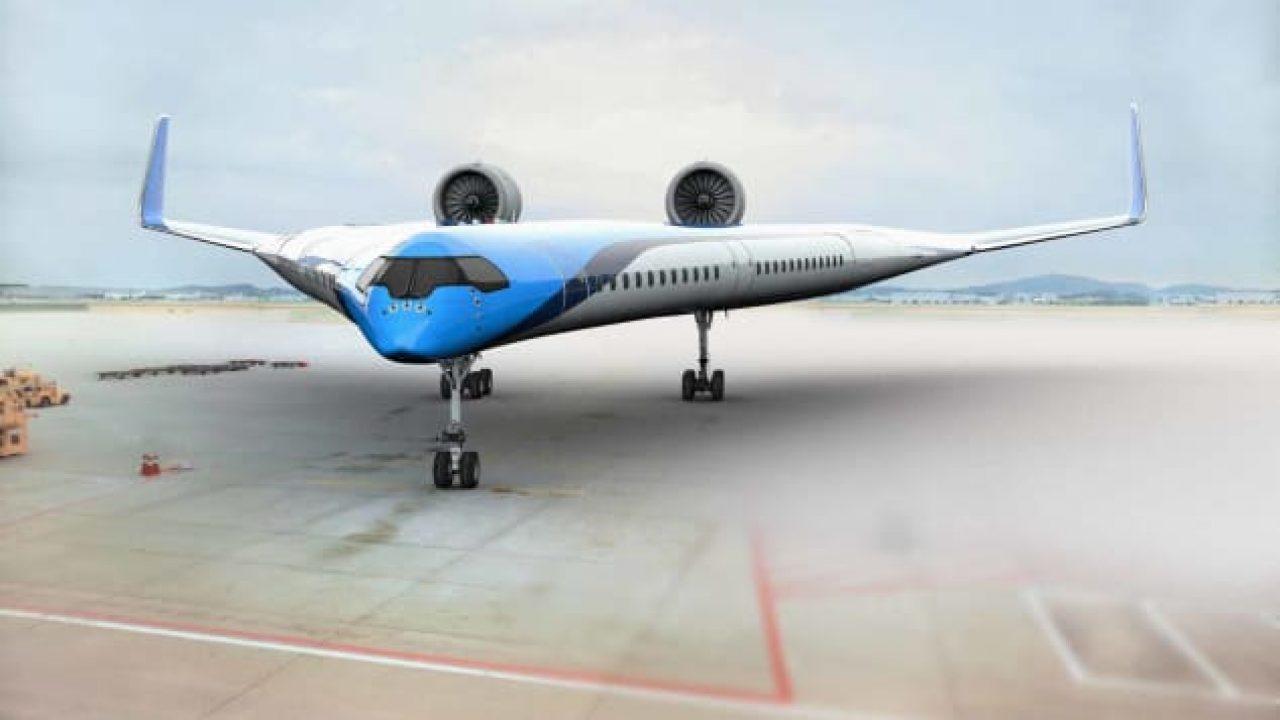 Flying-V Pesawat masa depan || Duniamasa.com