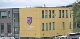 Unsworth Academy, Bury, Inggris. (Foto: MEN)