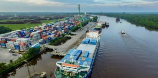 Salah satu pelabuhan peti kemas yang dikelola PT Pelindo 1 Pekanbaru (Suryakepri.com/ist)