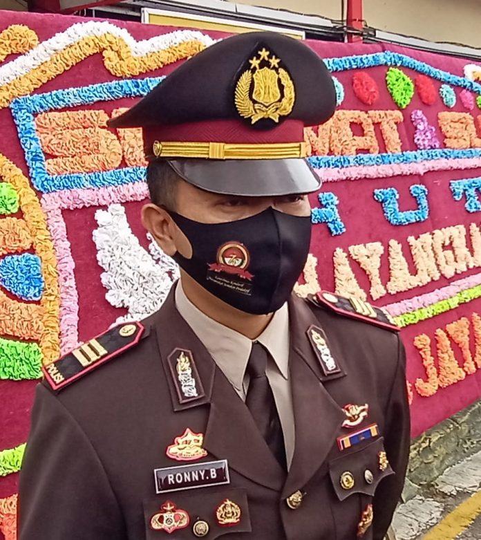 Kasat Narkoba Polres Tanjungpinang AKP Ronny Burungudju (Suryakepri.com/Muhammad Bunga Ashab)