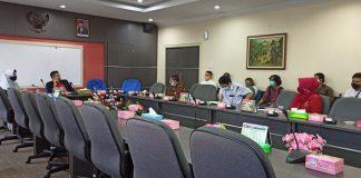 Diskusi yang berlangsung antara Ketua DPRD Batam, Nuryanto bersama perwakilan Tim Pengakhiran Perjanjian Konsesi Badan Pengusahaan