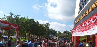 Polresta Barelang Melaksanakan kegiatan Satgasnusantara Subsatgas Kemitraan Bakti Sosial dan Bakti Kesehatan dalam rangka Cooling System Pilkada 2020