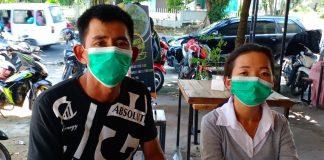 Aan dan Susan saat ditemui di Tanjungpinang (Suryakepri.com/Muhammad Bunga Ashab)