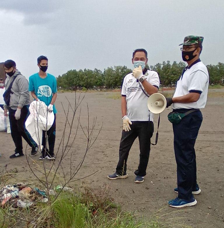 Aksi World Clean Up Day di Kepri Didukung Penuh Lantamal IV - Surya Kepri