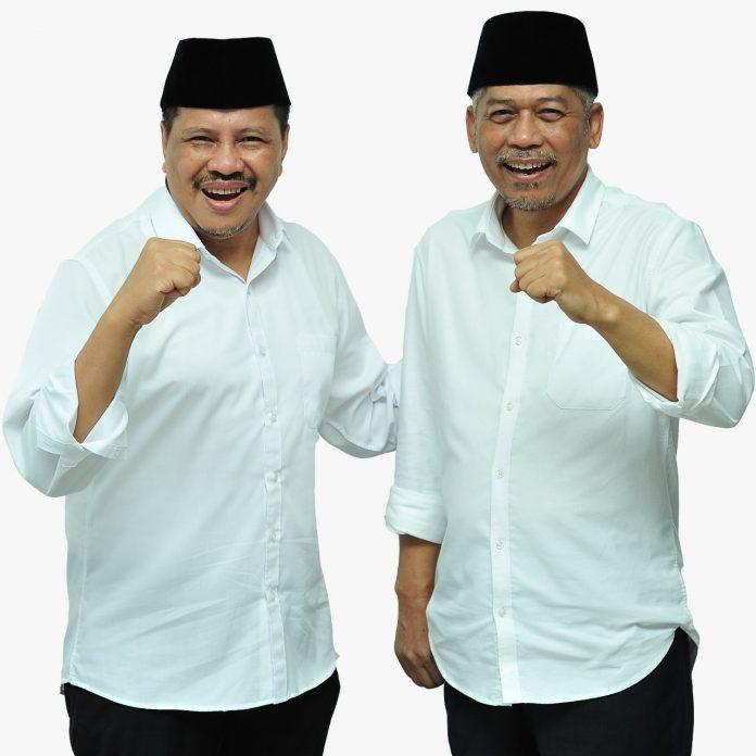 DR Ir Lukita Dinarsyah Tuwo MA dan Drs Abdul Basyid bakal calon walikota-wakil walik kota Batam.(suryakepri.com/ist)